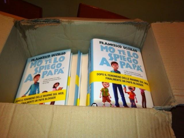 La sorpresa nel pacco ovvero il libro di Mo te lo spiego a papà