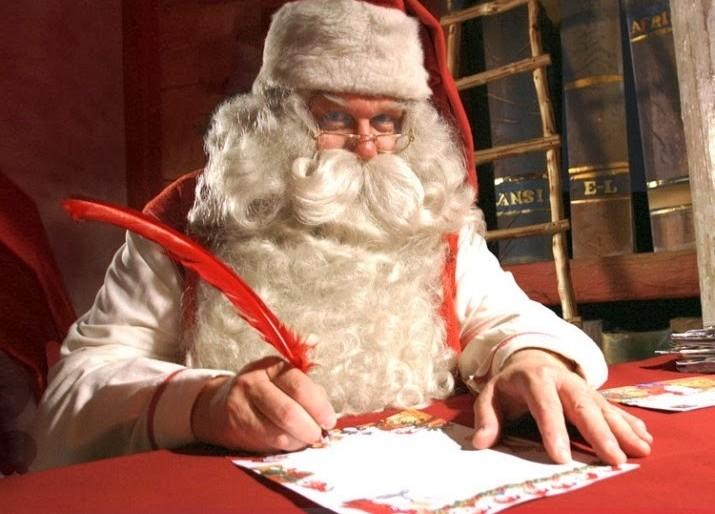 Una letterina di aiuto firmata Babbo Natale