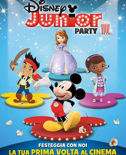Al cinema con Disney Junior Party