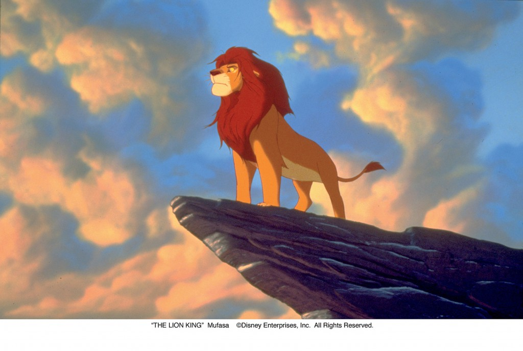"""""""THE LION KING""""Mufasa©Disney Enterprises, Inc.  All Rights Reserved."""