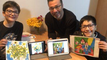 L'arte a portata di tutti…anche dei bambini.