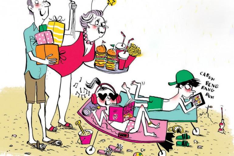 Come incastri i bambini in vacanza?