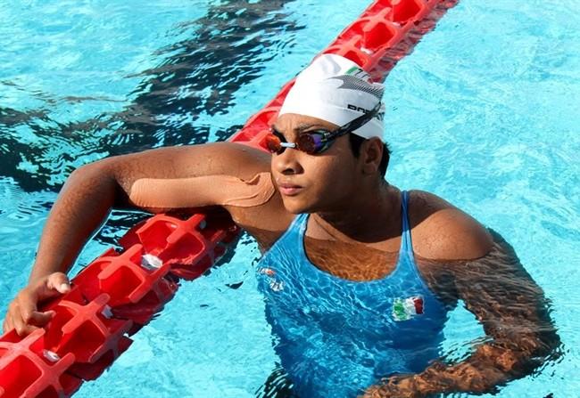 Emanuela Romano campionessa di nuoto paralimpico