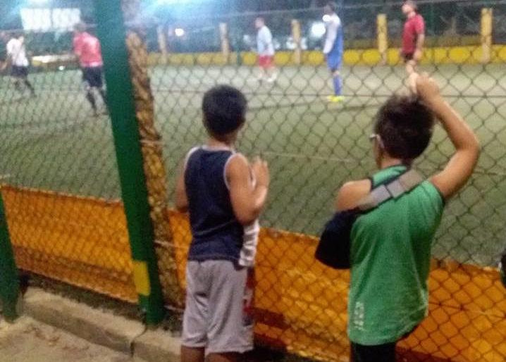 Una partita di calcio e diventi il mito dei tuoi figli