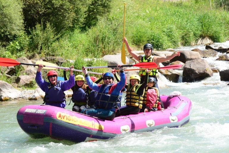 Rafting: il fiume che lava le lacrime